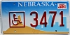 2000 Nebraska Disabled graphic # 3471