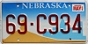 2000 Nebraska graphic # C934, Dawes County
