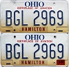 2000 Ohio Aviation graphic pair # BGL-2969