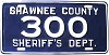 2000 Shawnee County Kansas Sheriff's Department # 300