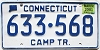 2001 Connecticut Camping Trailer #633-568