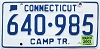 2001 Connecticut Camper Trailer # 640-985