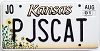 2001 Kansas Sunflower graphic # PJSCAT, Johnson County