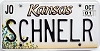 2001 Kansas Sunflower graphic # SCHNELR, Johnson County