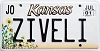 2001 Kansas Sunflower graphic # ZIVELI, Johnson County