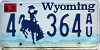 2001 Wyoming #364AU, Sweetwater County
