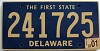 2001 Delaware First State # 241725