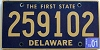2001 Delaware First State # 259102