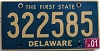 2001 Delaware First State # 322585
