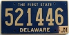 2001 Delaware First State # 521446