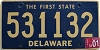 2001 Delaware First State # 531132