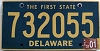 2001 Delaware First State # 732055