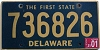 2001 Delaware First State # 736826