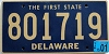 2001 Delaware First State # 801719