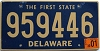 2001 Delaware First State # 959446