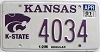 2001 Kansas State University graphic # 4034