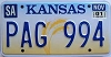 2001 Kansas Wheat graphic # PAG-994, Saline County