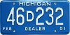 2001 Michigan Dealer # 46D232