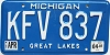 2001 Michigan # KFV-837