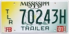 2001 Mississippi Trailer # 70243H