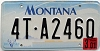 2001 Montana Truck graphic # 4T-A2460, Missoula County