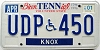 2001 Tennessee Disabled # UDP-450