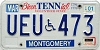 2001 Tennessee Disabled # UEU-473
