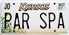 2002 Kansas Sunflower graphic # PAR SPA, Johnson County