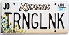 2002 Kansas Sunflower graphic # TRNGLNK, Johnson County