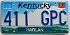 2002 Kentucky Cloud graphic # 411-GPC
