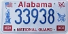 2002 Alabama National Guard graphic # 33938