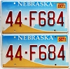 2002 Nebraska Farm graphic pair # F684, Nemaha County