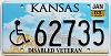 2003 Kansas Disabled Veteran graphic # 62735