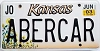 2003 Kansas Sunflower graphic # ABERCAR, Johnson County