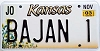 2003 Kansas Sunflower graphic # BAJAN 1, Johnson County