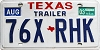 2003 Texas Trailer # 76X-RHK