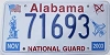2003 Alabama National Guard graphic # 71693