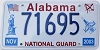 2003 Alabama National Guard graphic # 71695
