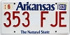 2003 Arkansas Natural State # 353-FJE