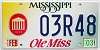 2003 Mississippi Ole Miss graphic # 03R48
