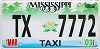 2003 Mississippi Taxi # 7772