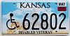 2004 Kansas Disabled Veteran graphic # 62802