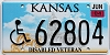 2004 Kansas Disabled Veteran graphic # 62804