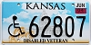2004 Kansas Disabled Veteran graphic # 62807