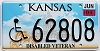 2004 Kansas Disabled Veteran graphic # 62808