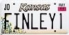 2004 Kansas Sunflower graphic # FINLEY1, Johnson County