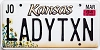 2004 Kansas Sunflower graphic # LADYTXN, Johnson County