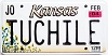 2004 Kansas Sunflower graphic # TUCHILE, Johnson County