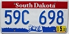2004 South Dakota graphic # 59C-698