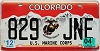 2004 Colorado Marine Corps graphic # 829-JNE